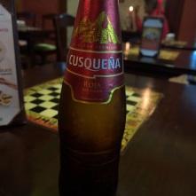 Peruvian Beer in Crepismio in Arequipa
