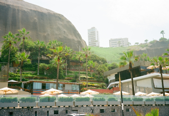 Lima in summer is hot, humid, and green