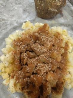 Nutmeg and apples